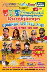 Festival Dominicano Tony Lima, Orlando, Fl @ Festival Dominicano Tony Lima | Orlando | Florida | Estados Unidos