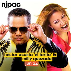 New Jersey Performing Arts Center Junto a Milly Quezada @ New Jersey Performing Arts Center | Newark | New Jersey | Estados Unidos