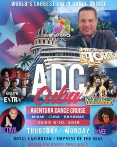 Aventura Dance Cruise, Royal Caribbean @ Royal Caribbean / Empress Of The Seas